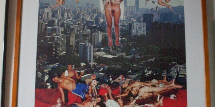 La virgen de Caracas (2010)  Obra: Nelson Garrido Foto: Gerardo Rojas