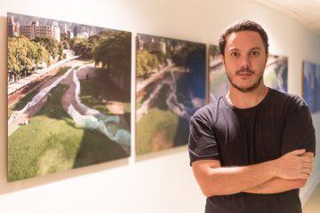 """Miguel Braceli """"Construir el mar"""", Exposición, 2015 Foto Cortesía: Miguel Braceli"""