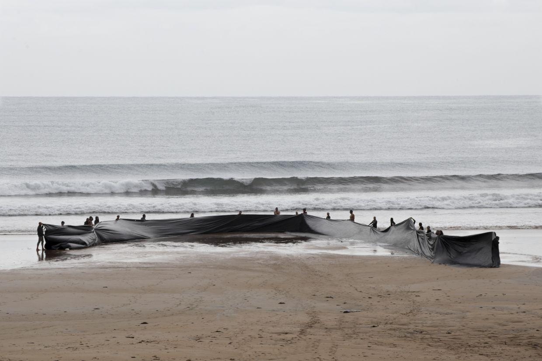"""""""Sacar el Mar"""", Miguel Braceli, Gijón, España, 2016 Foto Cortesía: Miguel Braceli"""