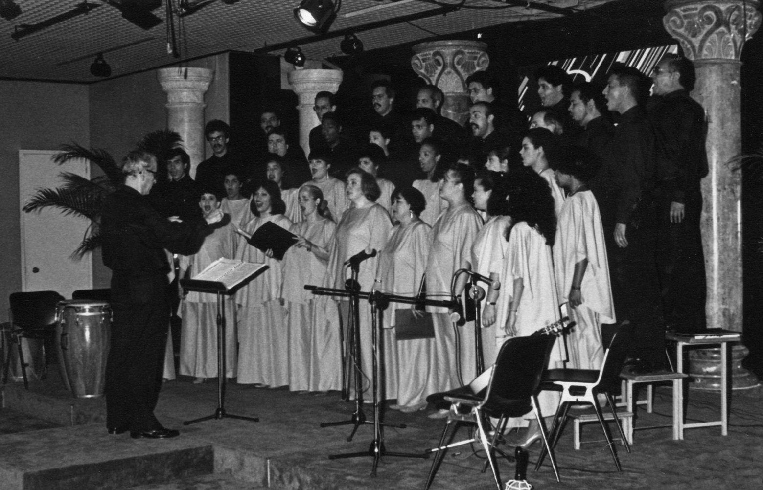 Grupo Coral Schola Cantorum de Caracas.