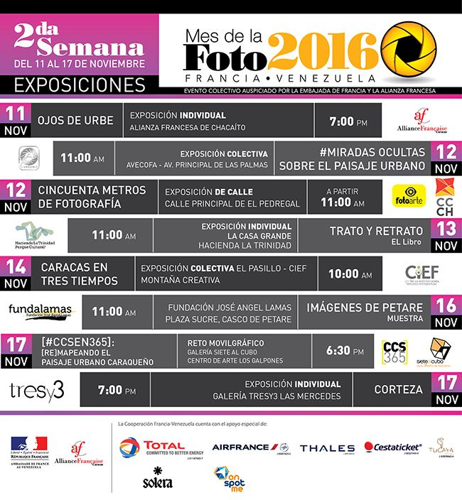 Programa Expo MDLF 1era semana