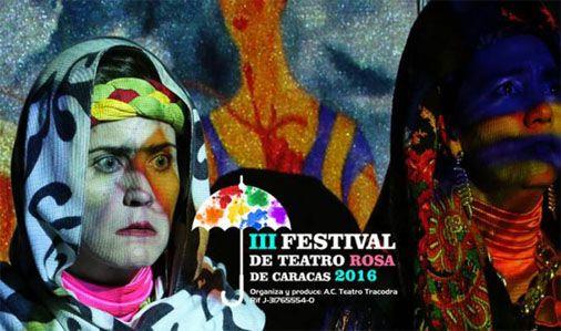 tercer festival de teatro rosa