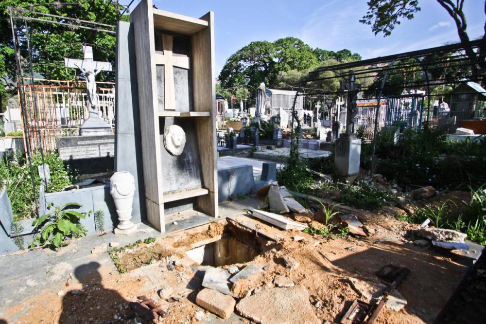 Cementerio General del Sur Foto: Globovisión