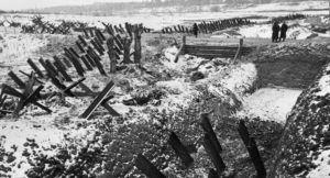 Hexapodos en Moscú durante la Segunda Guerra Mundial