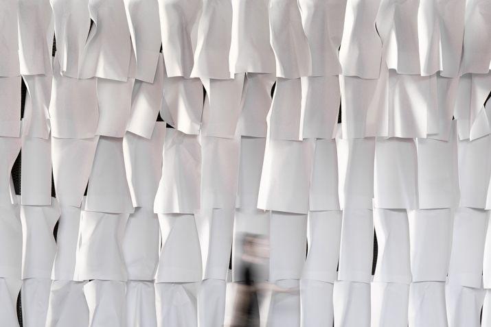 """""""Estructuras de la Palabra"""", Miguel Braceli, Centro Cultural Chacao, 2015 Foto Cortesía: Miguel Braceli"""