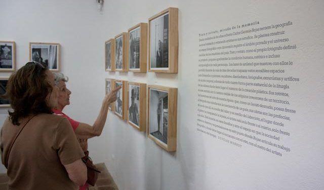 El público también disfrutó de la exposición fotográ´fica Foto: Gerardo Rojas