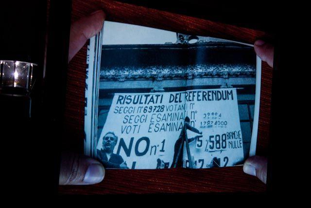 """La Caja de Protesta"" Foto: Gerardo Rojas"