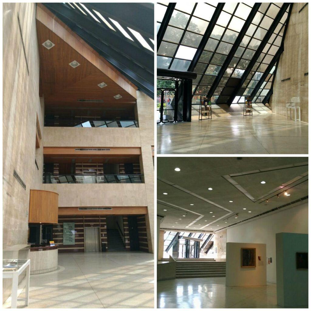 Lobby del Museo Alejandro Otero.