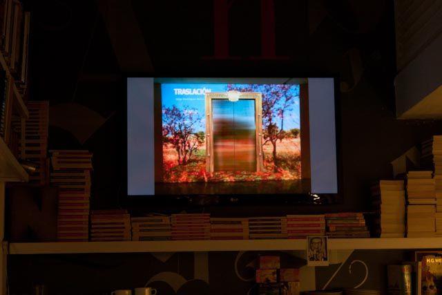 El encuentro fue en la Librería Lugar Común en Altamira