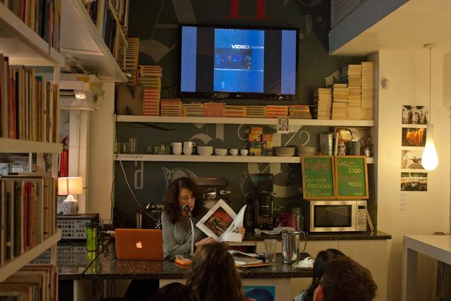Gamboa invitó a participar en el taller Video-Arte que dicta en el Cief