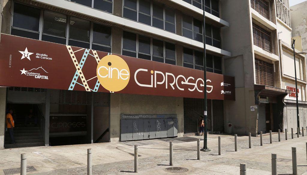 Cine reinaugurado por la Alcaldía de Caracas