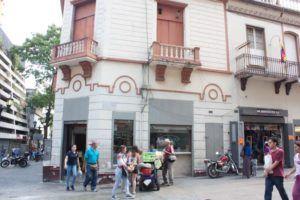 Pastelería francesa en el centro de Caracas