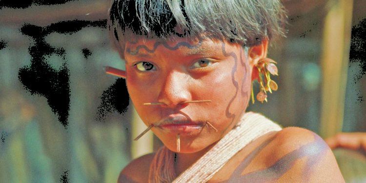 Niña Yanomami Foto: Karl Weidmann