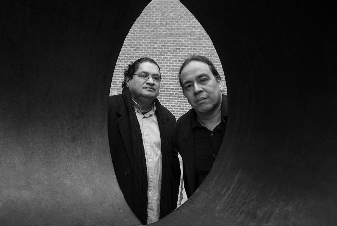 Juan Carlos Chirinos y Juan Carlos Médez Guédez Foto: Vasco Szinetar