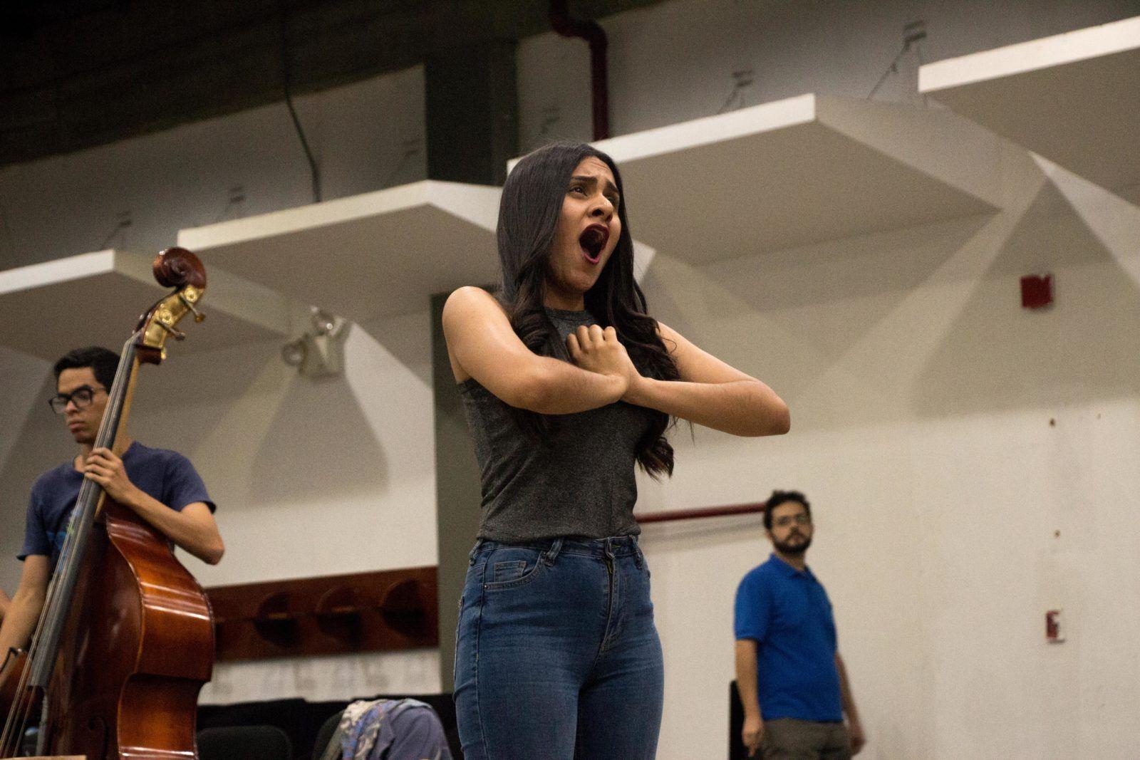 La soprano Génesis Moreno. Foto: Edisson Urguiles