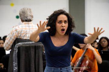 La mezzosoprano Claudia García. Foto: Edisson Urgiles