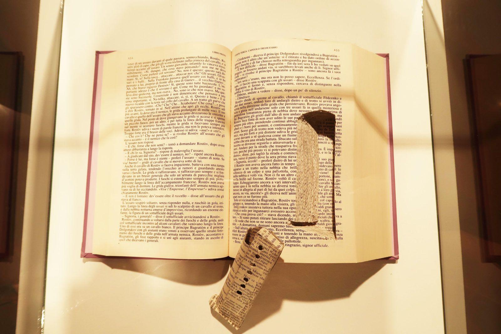 """""""Per una nuova Teologia della Liberazione"""" (2011) de Domenico Antonio Mancini Foto: Daniela Gustuti"""