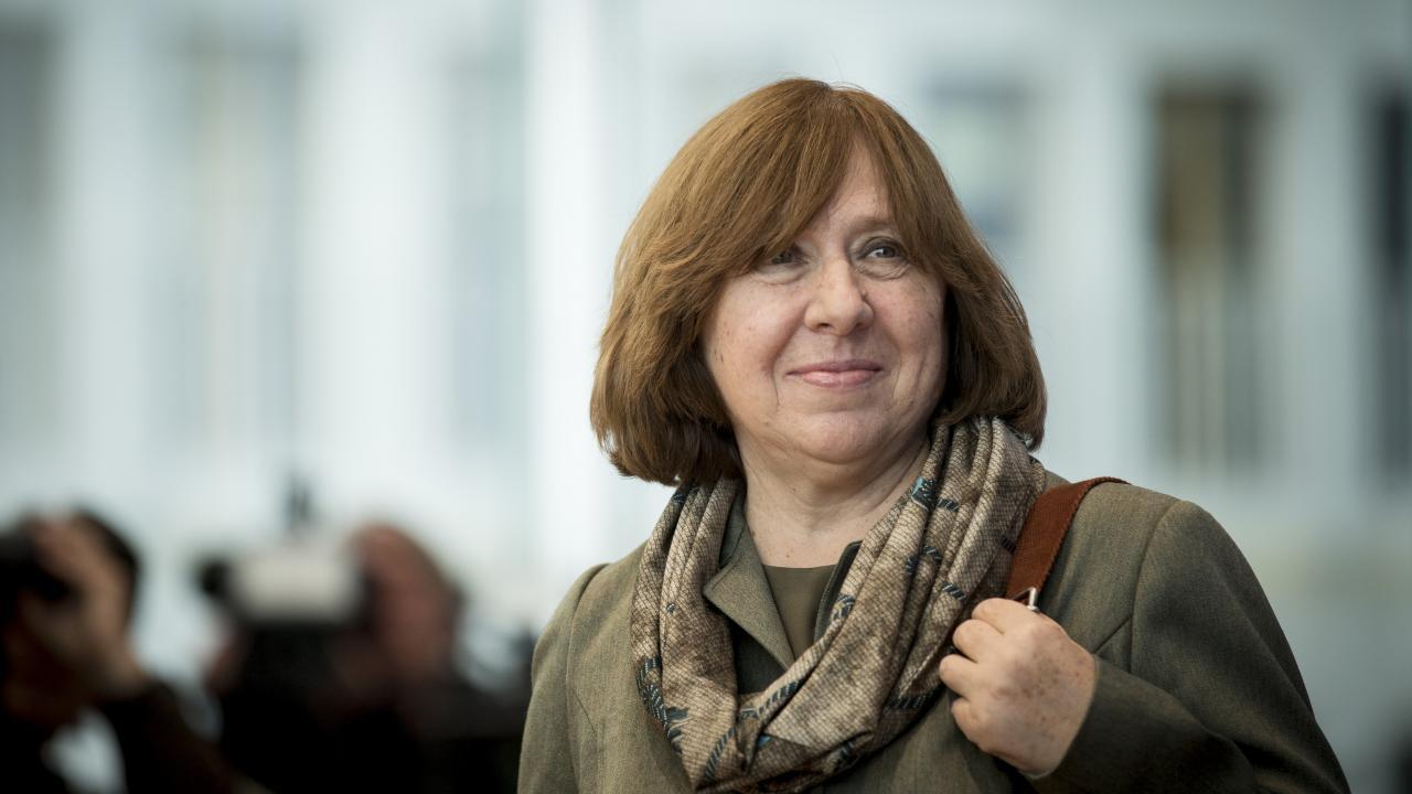 Svetlana Alexievich Foto :Diario de la Cultura -Argentina