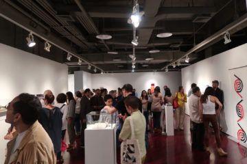 """Sala TAC del Trasnocho Cultural en la inauguración de la exposición """"DISIO. Nostalgia del futuro"""" Foto: Daniela Gustuti"""