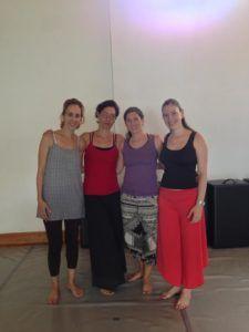 María Elisa Al Cheikh, Daniela Pinto, Claudia Cordido y María Teresa Gil, cofundadoras de la Asociación Venezolana de DMT