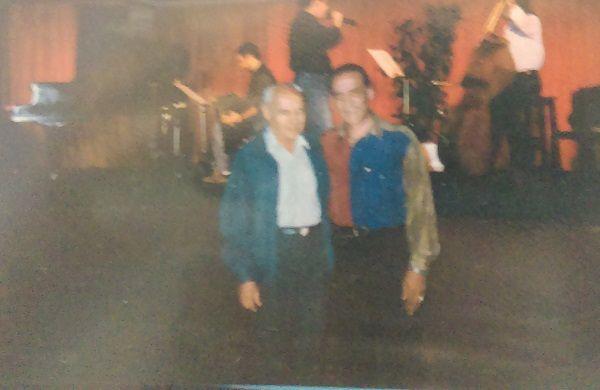 Tino Díaz y Juan Carlos Copes