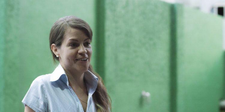 """María Fernanda Martínez considera que su corto es una visión """"caraqueña"""" de la población de Elorza Foto: Ezequiel Carías (EZvisual)"""