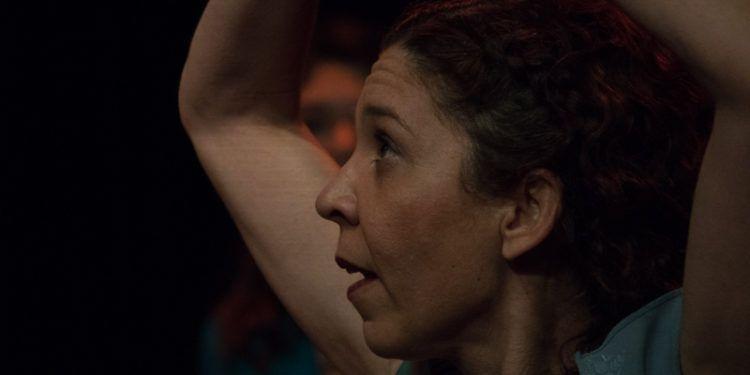 Tamaris baila en la obra Foto: Daniel Dannery