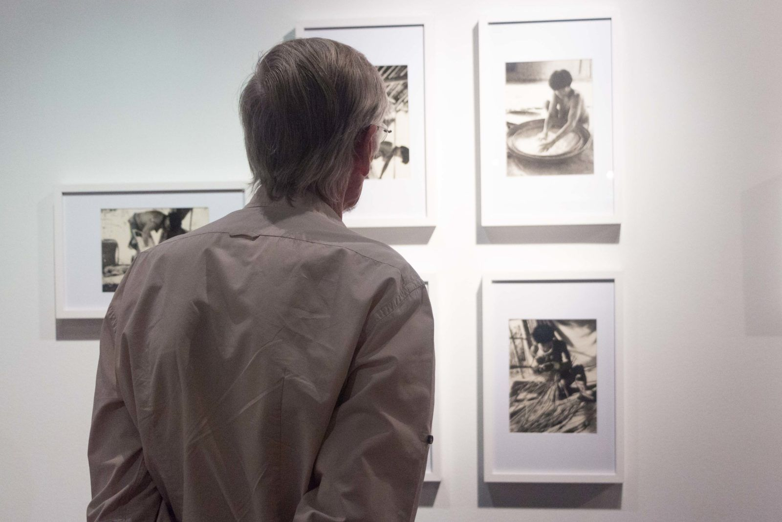 En la Sala TAC del Trasnocho Cultural, se inauguró la exposición Foto: Edisson Urguilés