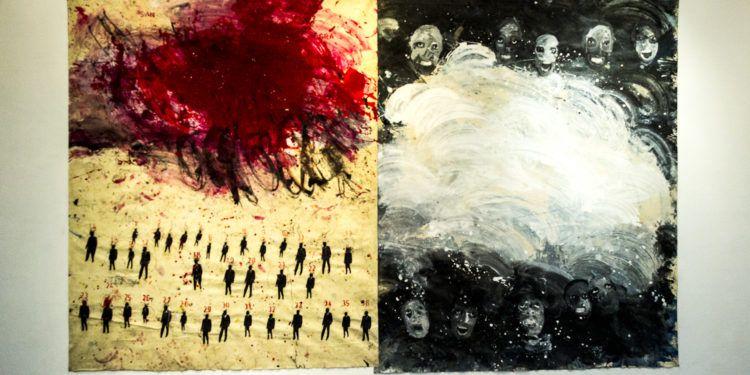 """""""La santa sangre"""" de Enay Ferrer Foto: Ezequiel Carías"""