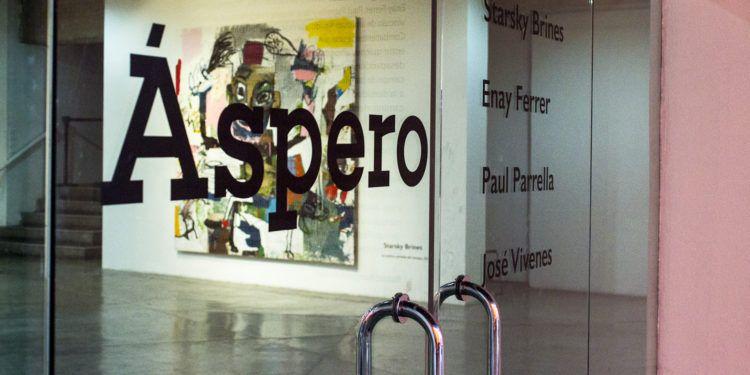 """La exposición artística """"Áspero"""" se exhibe en La Caja del Centro Cultural Chacao"""