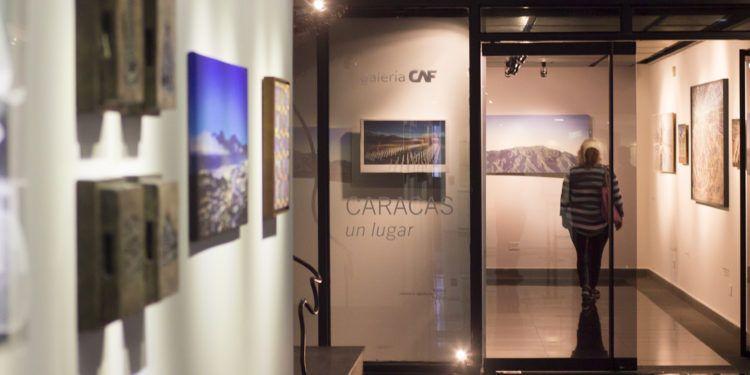"""Ya está abierta al público """" Caracas, el lugar"""" en la Galería CAF"""