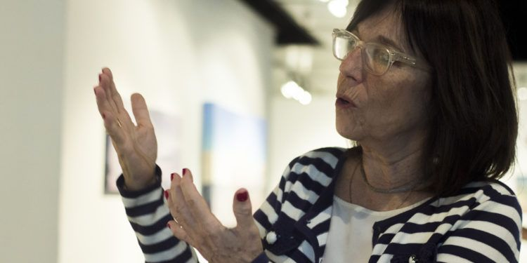 La curadora Mariela Provenzali