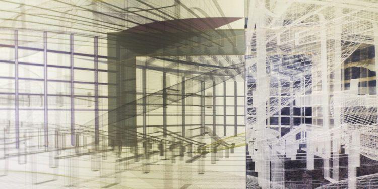 El Aula Magna, Las Nuebes de Calder y El Ávila de fondo en la composición de Quilici