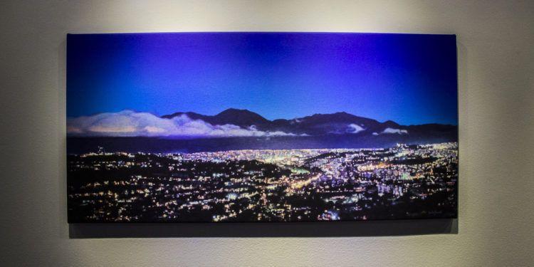 """"""" Caracas,La Noche desde Alto Prado"""" de Roberto de La Fuente"""