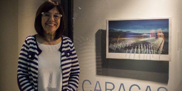 """Pronvezali en la apertura de la muestra """" Caracas,un lugar en La Galería CAF"""