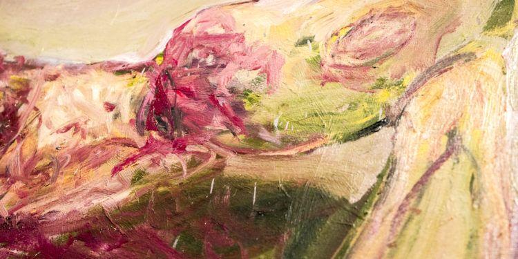 """Detalle de """"Narciso"""" de José Vívenes Foto: Ezequiel Carías"""