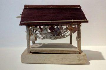 Palafito, casa del guarao, artesania