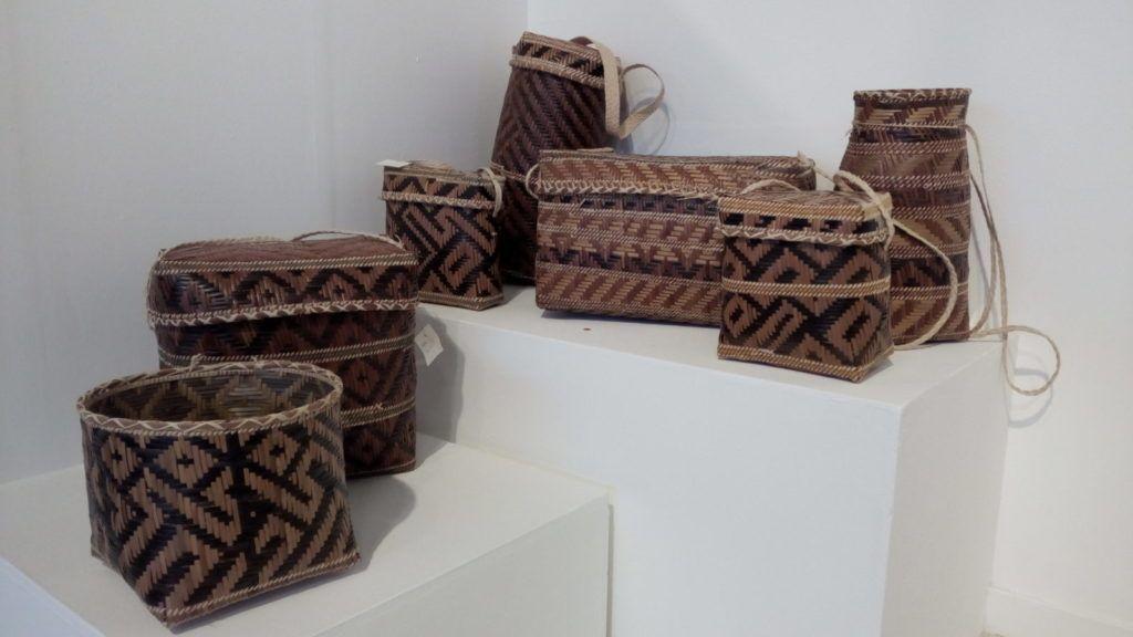 Toro toro, bolsos utilizados por el pueblo guarao, elaborados con tiritire