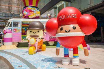 La marca Chocotoy atesora su participación en una exposición en el centro comercial hongkonés Isquare.Foto: Cortesía
